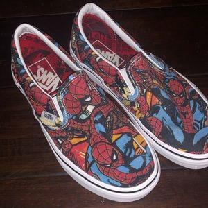 Spider-Man Marvel Vans